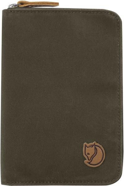 Passport Wallet Dark Olive