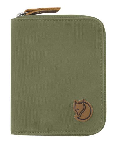 Zip Wallet Green