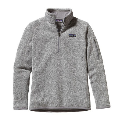 W's Better Sweater 1/4 Zip Birch White