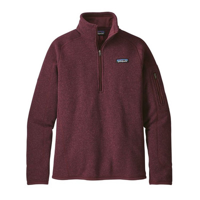 W's Better Sweater 1/4 Zip Dark Currant