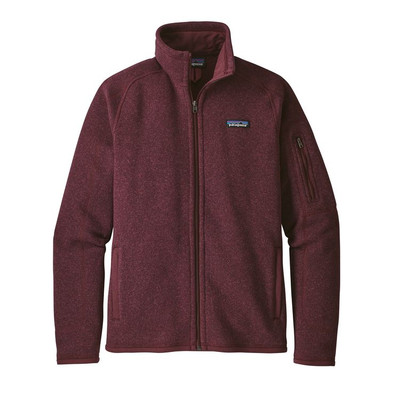 W's Better Sweater Jkt Dark Currant