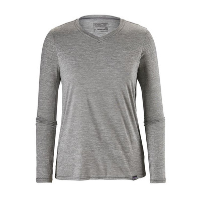 W's Cap Daily L/S T-Shirt Feather Grey