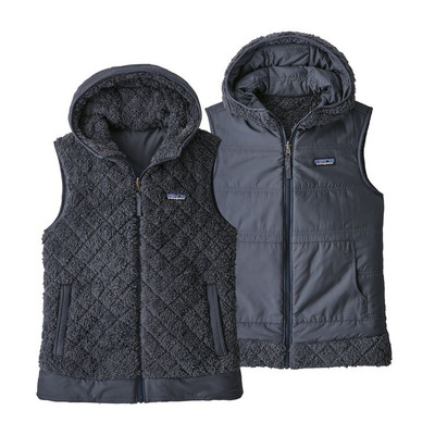 W's Los Gatos Hooded Vest Smolder Blue