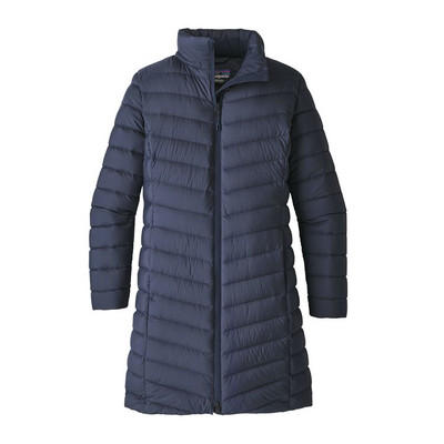 W's Silent Down Parka Navy Blue