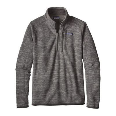 M's Better Sweater 1/4 Zip Nickel