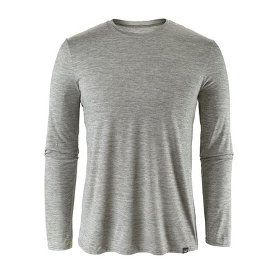 M's Cap Daily L/S T-Shirt Feather Grey