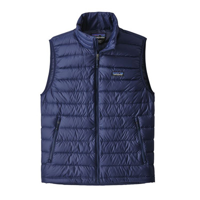M's Down Sweater Vest Navy Blue w/Navy Blue