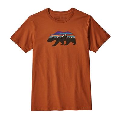 M's Fitz Roy Bear Organic T-Shirt Copper Ore