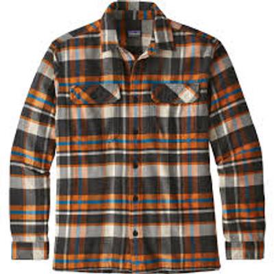 M's L/S Fjord Flannel Shirt Basin: Marigold