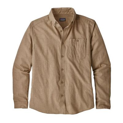 M's L/S Vjosa River Pima Cotton Shirt Mojave Khaki