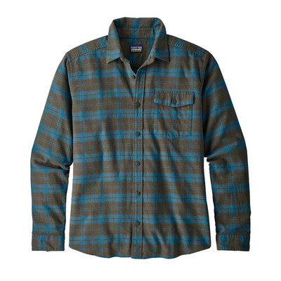 M's LW Fjord Flannel Shirt Herder: Sediment