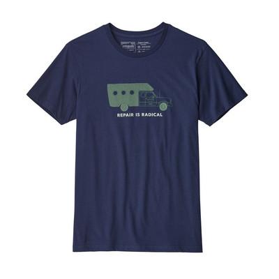 M's Repair Is Radical Organic T-Shirt Classic Navy