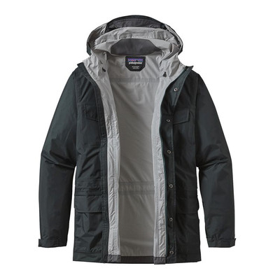 M's Torrentshell Parka Big Sur Blue