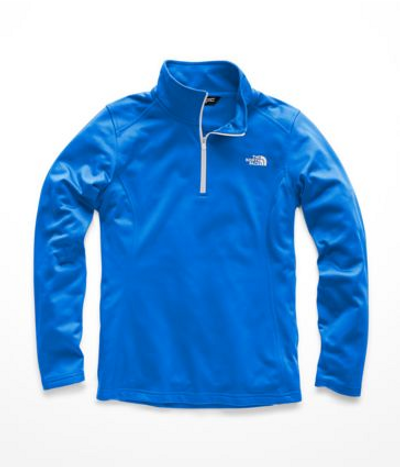 Women's Glacier ¼ Zip Bomber Blue