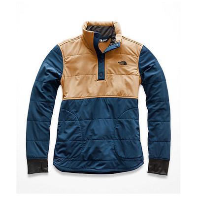 Women's Mountain Sweatshirt ¼ Snap Blue Wing Teal/Cargo Khak