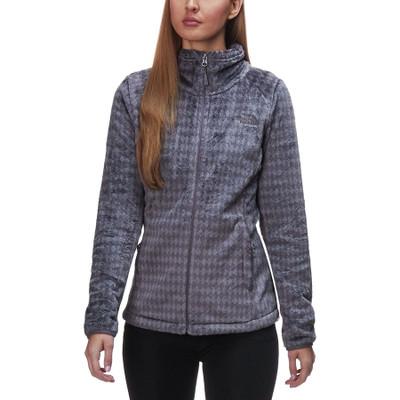 Women's Novelty Osito Jacket Rabbit Grey Heather Diamond Osi