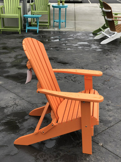 Folding Adirondack Chair Mango Orange