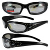 Chill Clear Lenses with Rhinestones