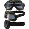 Forest Camo Biker Goggles