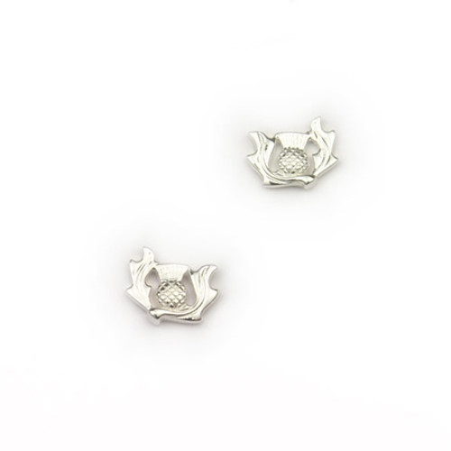 Small Thistle Stud Earrings