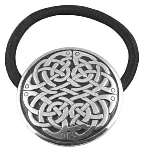 Round Celtic Knot Hair Tie