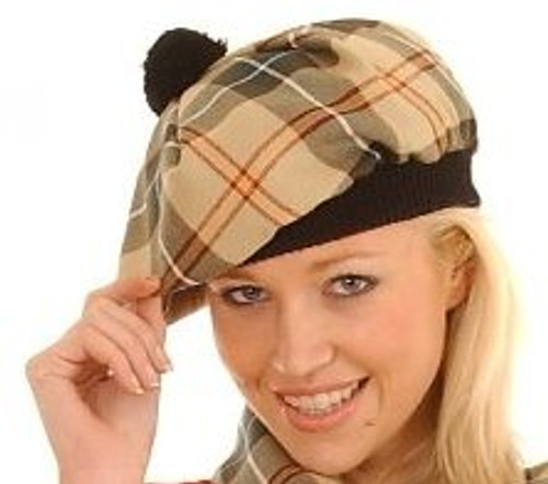 Tartan Plaid Tam - MacDonnell to Young