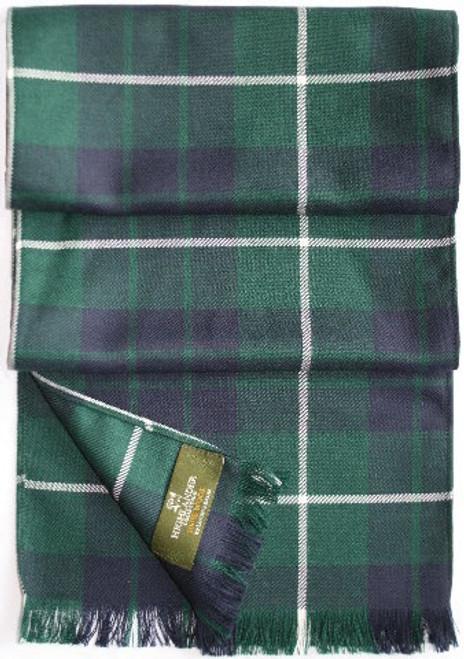 Tartan Plaid Wool Scarf -  Abercrombie to MacDonald