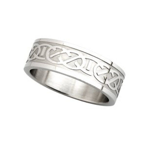 Celtic Ring with Interlacing
