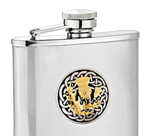 Thistle Two Tone Flask