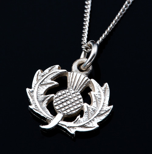 Thistle Pendant Necklace Small