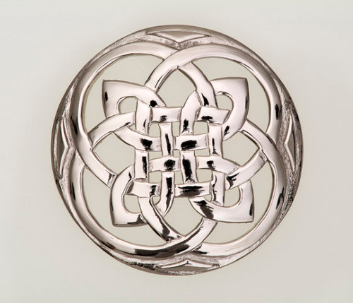 Large Celtic Knot Brooch