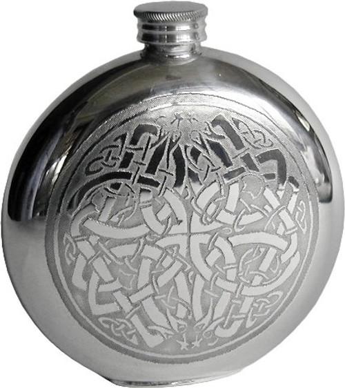 Celtic Circle Flask