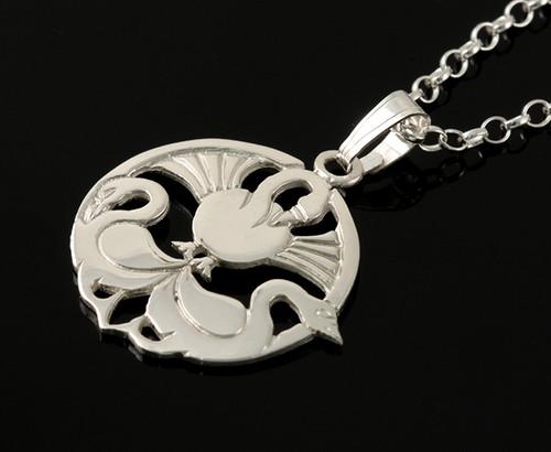 Scottish jewelry three nornes pendant necklace small three nornes pendant necklace small aloadofball Image collections