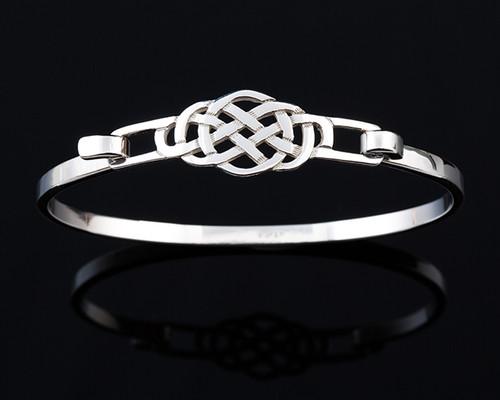 Round Celtic Knot Bangle