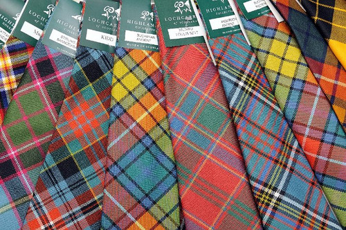 Tartan Plaid Tie -  Abercrombie to MacDonald