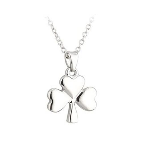 Lucky Shamrock Pendant Necklace