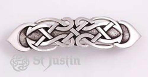 Figure Eight Celtic Knot Hair Clip Barrette