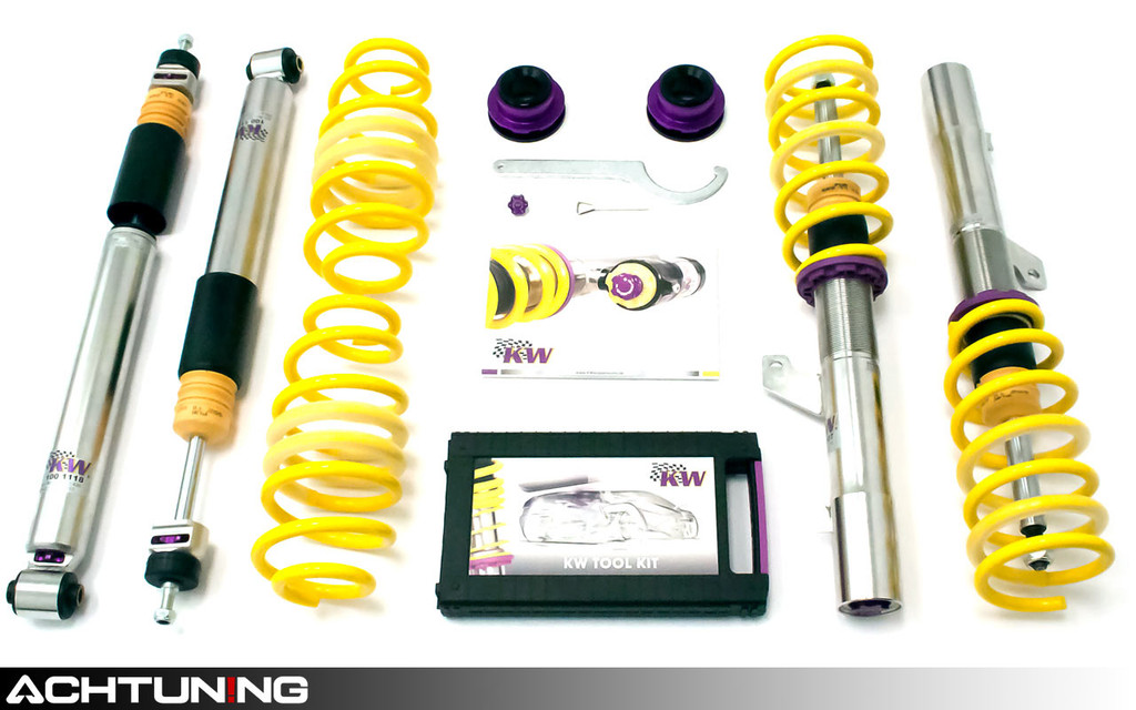 KW 3528000N V3 Coilover Kit Volkswagen Mk7 Golf R and GTI