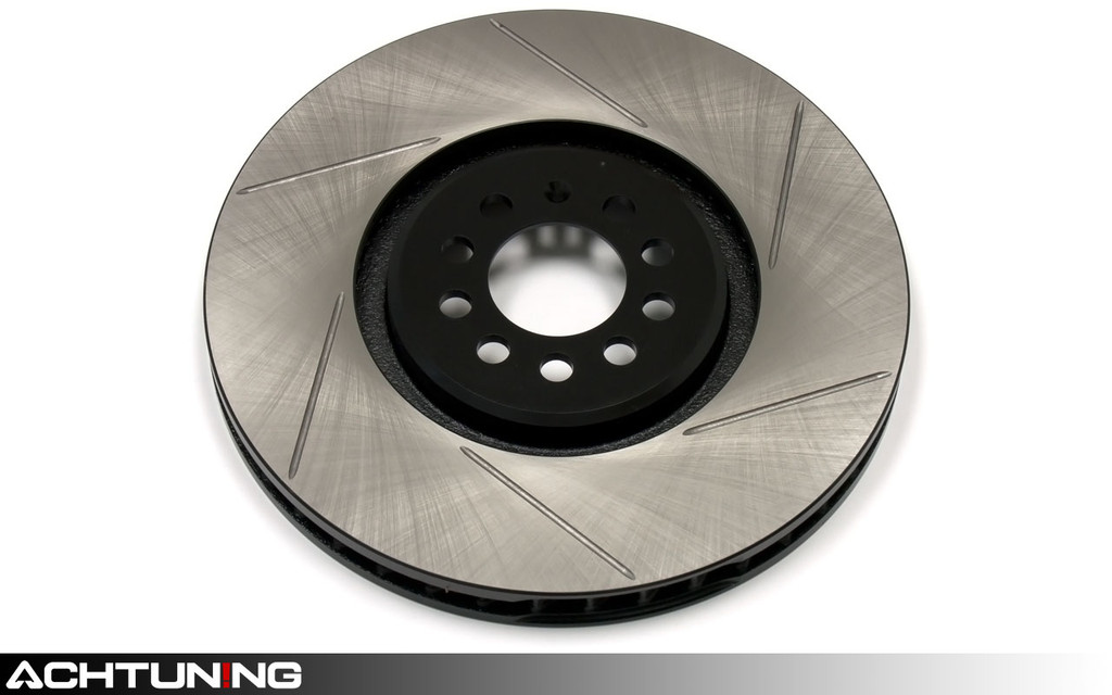 StopTech 126.33112SL 345mm Slotted Left Front Rotor Volkswagen