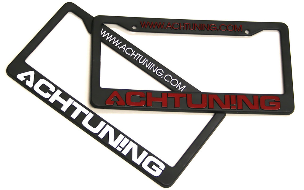 Achtuning License Plate Frame
