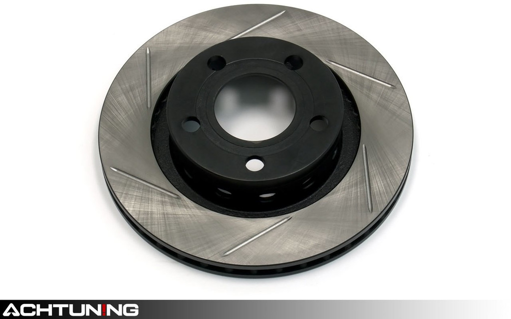 StopTech 126.33067SR 256mm Slotted Right Rear Rotor Audi B5 S4