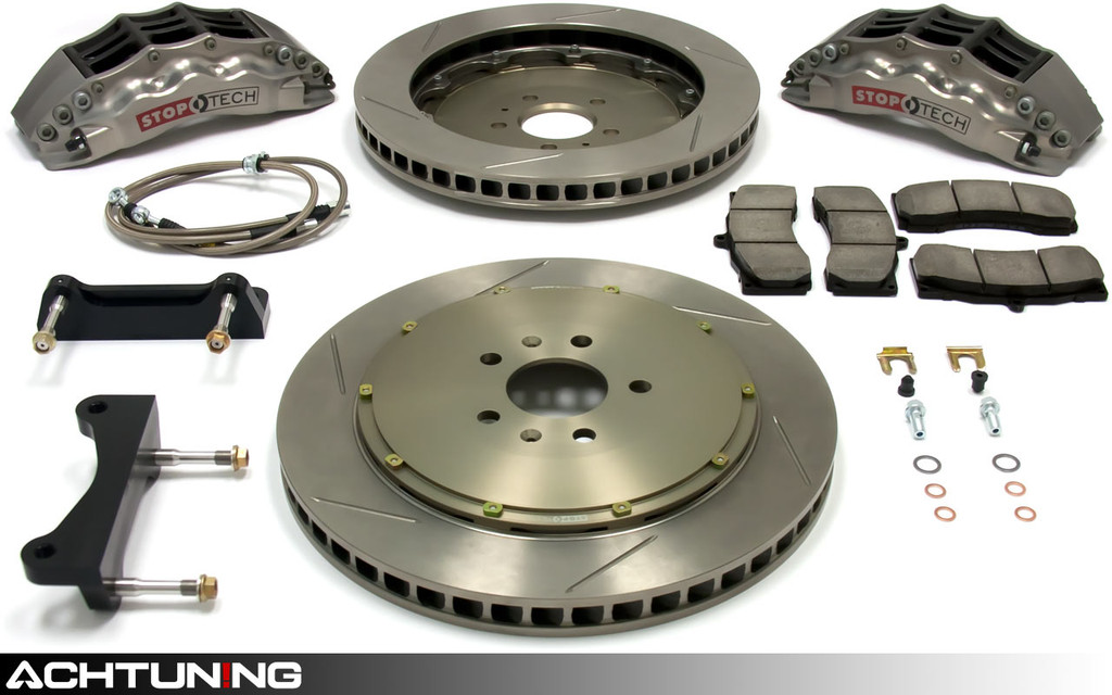StopTech 83.102.4700.R 355mm STR-40 Trophy Big Brake Kit Audi and VW