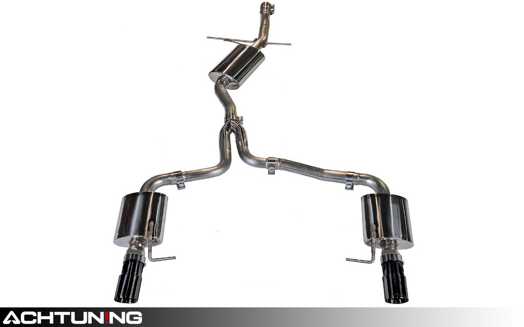 AWE Tuning 3015-33022 Catback Dual Tip Touring Exhaust Audi B8 A4 2.0T