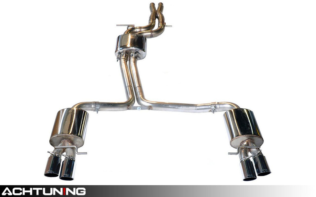 AWE Tuning 3015-42016 Catback Quad Tip Touring Exhaust Audi B8 A4 3.2L