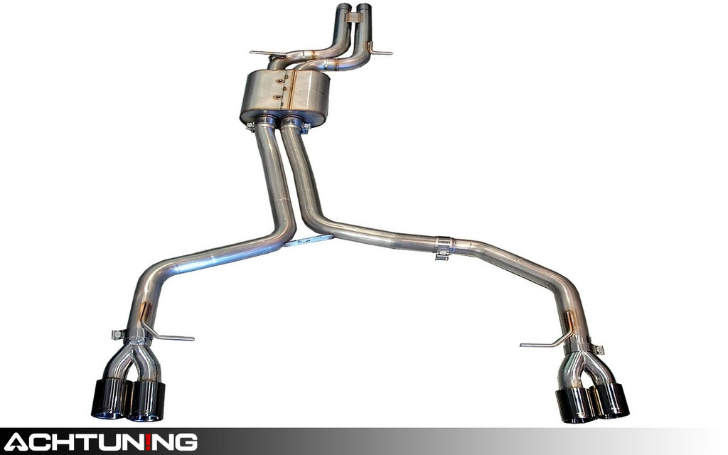 AWE Tuning 3020-43012 Catback Quad Tip Track Exhaust Audi B8 A5 3.2L