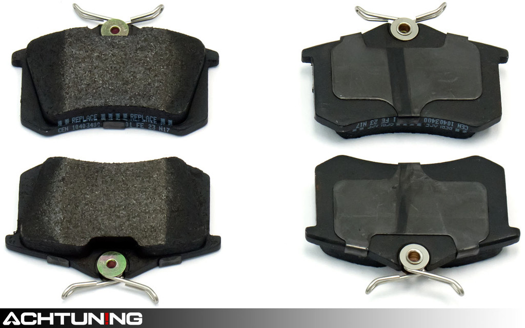 Centric 104.03400 Semi-Metallic Rear Brake Pads Audi and VW