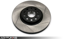 StopTech 126.33098SL 312mm Slotted Left Front Rotor Audi and Volkswagen