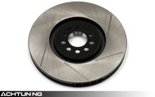 StopTech 126.33101SL 330mm Slotted Left Rear Rotor Audi C6 A6 Quattro
