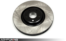 StopTech 126.33118SR 384mm Slotted Right Front Rotor Audi C6 S6
