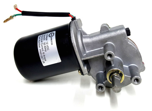 Pn01007 38 3 8 d shaft electric gear motor 12v low for Dc gear motor 12v 500 rpm